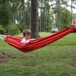 Children's Colombian Hammock - Red Stripe