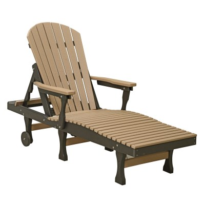 Comfo-Back Double Chaise Lounger - 18 colors available