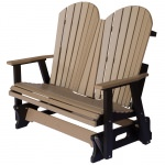 Comfo-Back Adirondack Double Glider - 18 colors available