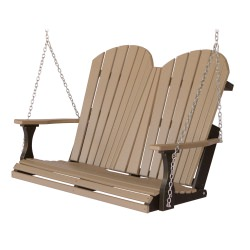 Comfo-Back Double Porch Swing with Stainless Steel Chains