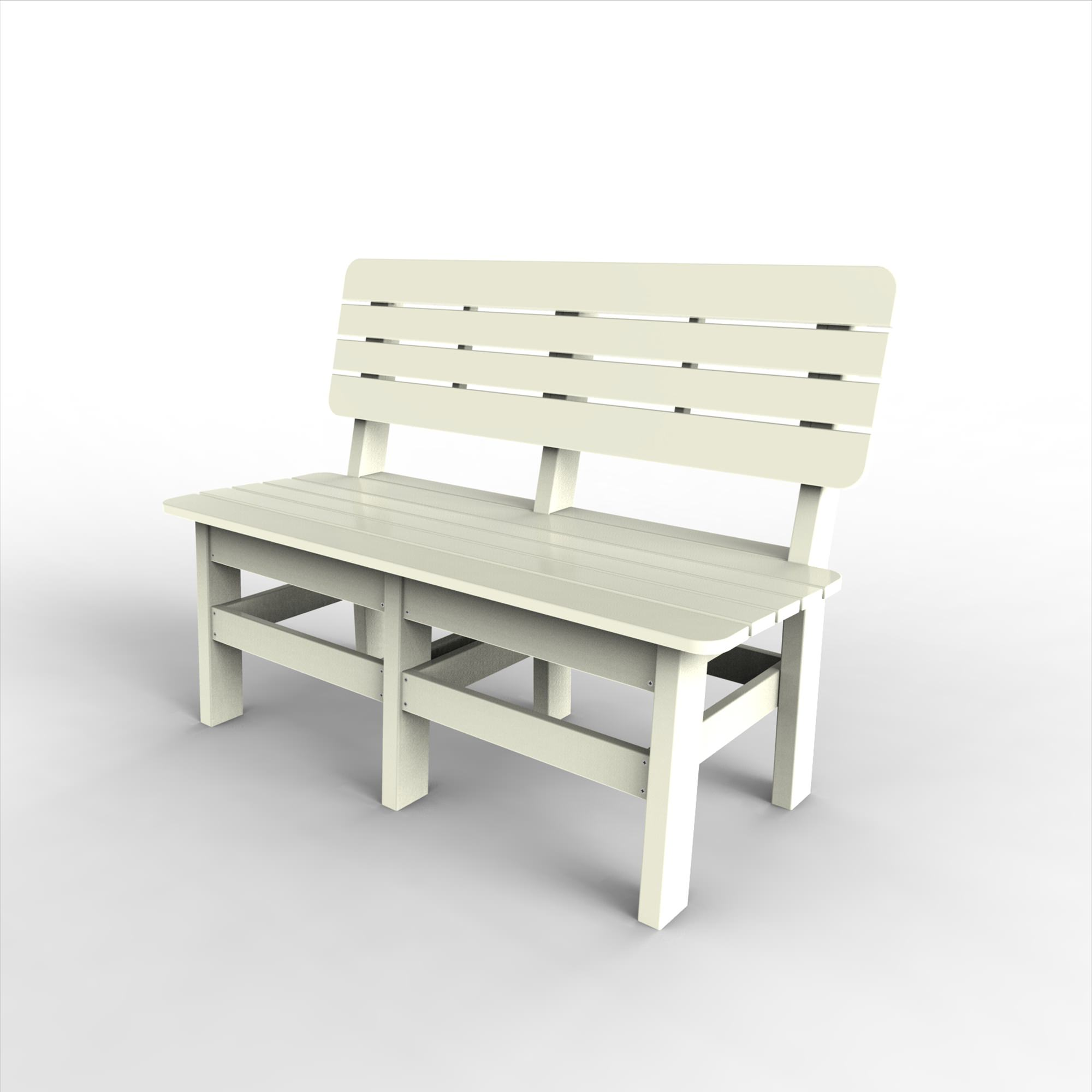 48in Country Bench By Malibu Dfohome