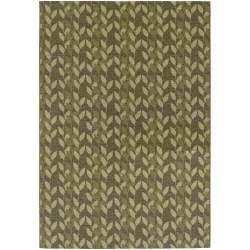 Dolce Piccolo Brown and Gold Outdoor Rug