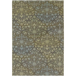 Dolce Coppola Brown and Beige Outdoor Rug