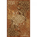 Urbane Gatesby Tan/Terracotta Outdoor Rug