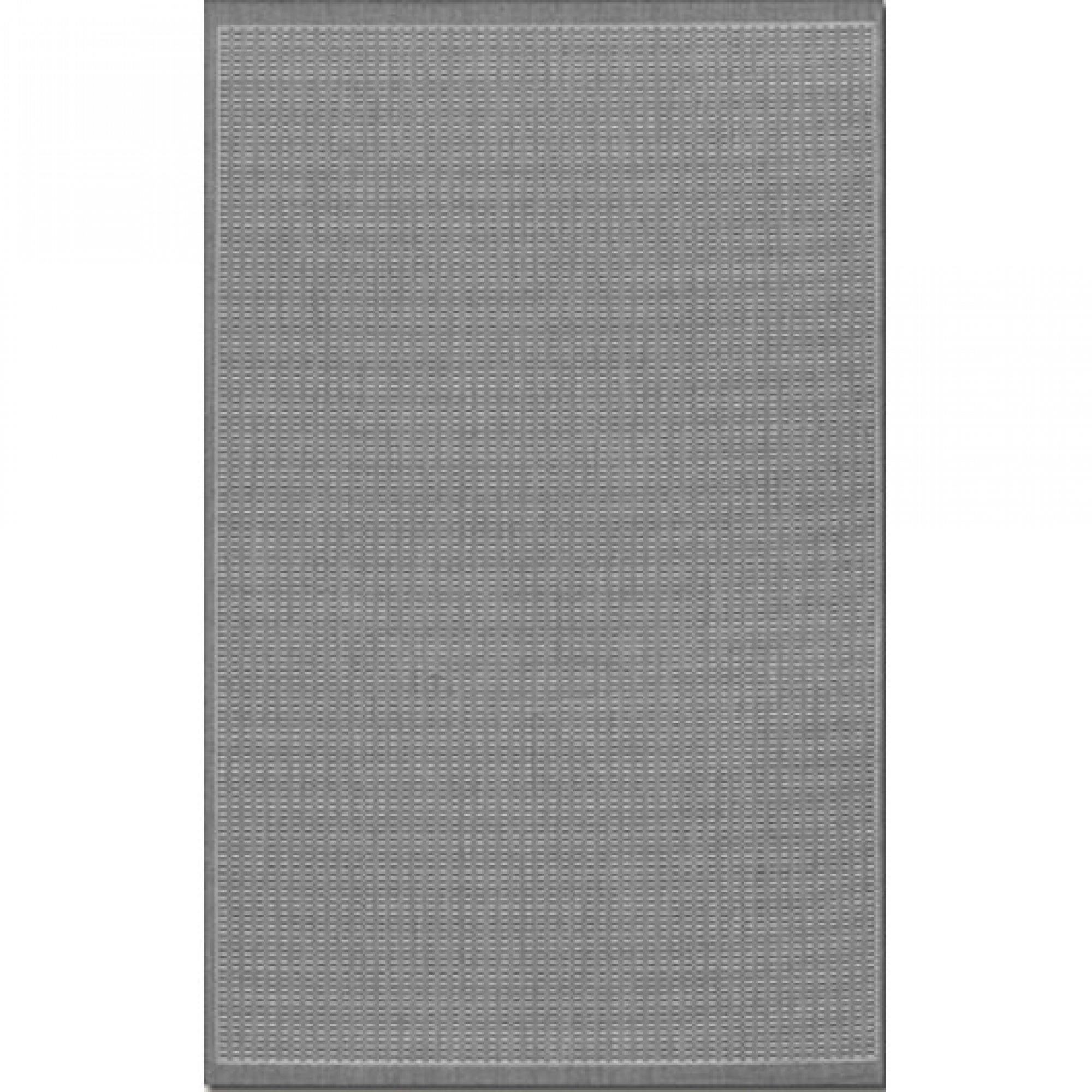 shop recife saddle stitch grey/white outdoor rug (2 ft x 3 ft 7 in
