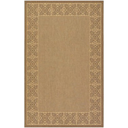 Recife Summer Chimes Natural/Cocoa Outdoor Rug