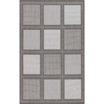 Recife Summit Grey/White Outdoor Rug