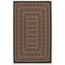 Recife Tamworth Cocoa/Black Outdoor Rug