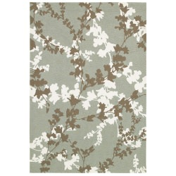 Covington Willow Branch Sage and Ivory Outdoor Rug