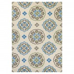 Covington San Clemente Rug Cream/Blue
