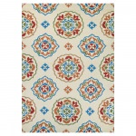 Covington San Clemente Rug Cream/Red