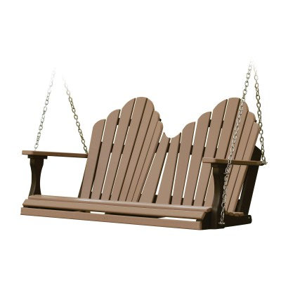 Cozi-Back Double Porch Swing (Stainless Chains) - 18 colors available
