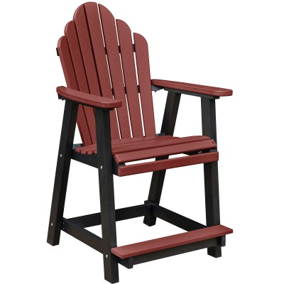 Cozi-Back Counter Chair - 18 Colors Available