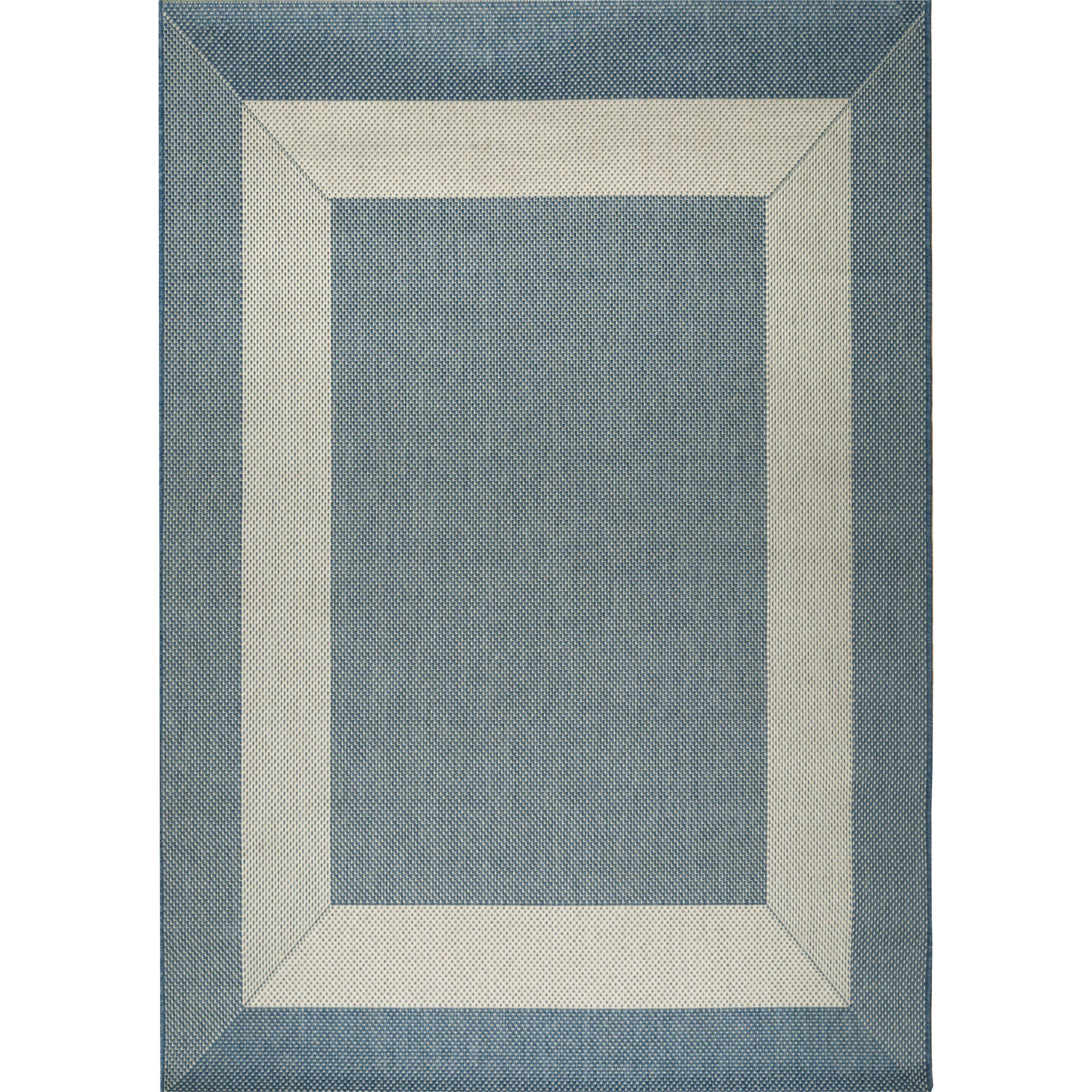Blue and Champagne Boardwalk Outdoor Rugs on Sale