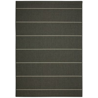 Palmetto Stripe Gray - Pawleys Island Porch Rug