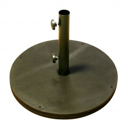 95 lbs Black Cast Iron Round Umbrella Base
