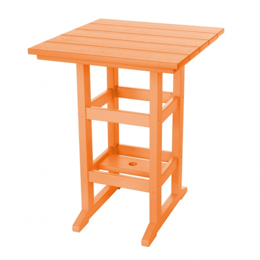 dfohome counter height orange durawood dining table esb84553