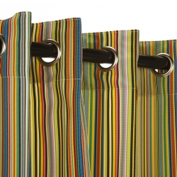 Polyester Outdoor Curtain- Nickel Grommets - Big Surprise