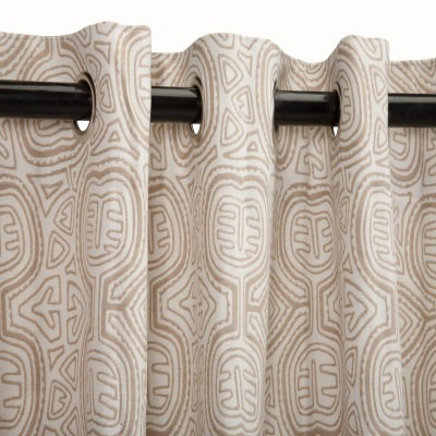 Patterned Outdoor Curtains