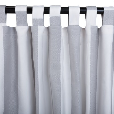 Sunbrella Solana Seagull Outdoor Curtain with Tabs