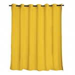 Sunflower Le Marche Extra Wide Outdoor Curtain