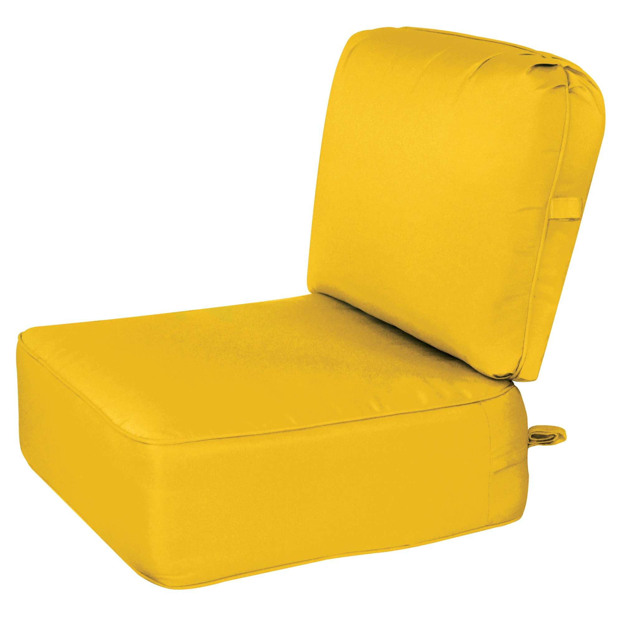 9 in deep seating cushion with box edge sunbrella colors