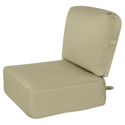 Deep Seating Cushion with Box Edge Neutral2 Color Options