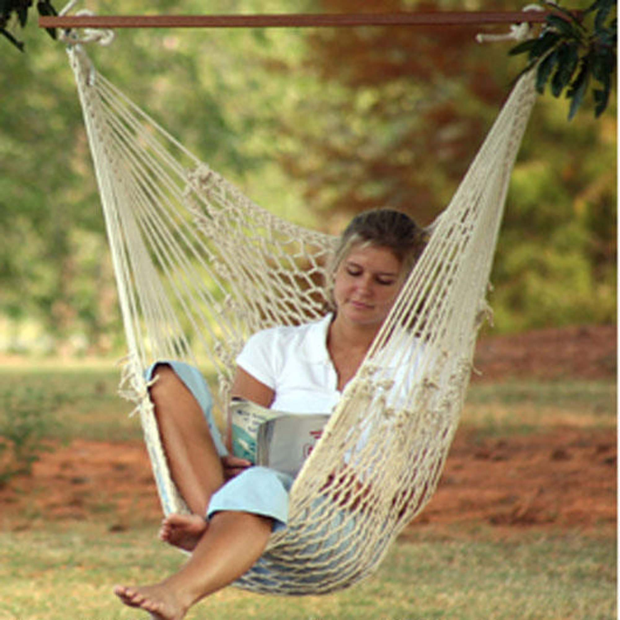 caribbean with hammock polyester stand chair pin outdoor