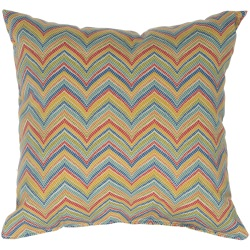 Multicolor Roselle Outdoor Pillow (18