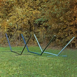 15 ft. Compactable Metal Hammock Stand - Multiple Color Options Available