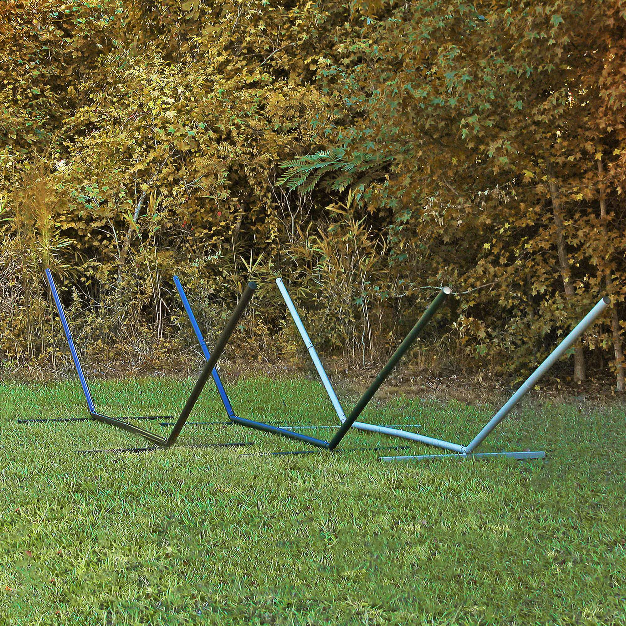 15 ft compactable metal hammock stand multiple color options available