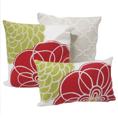 Vibrant Floral Outdoor Pillows Cushions Dfohome