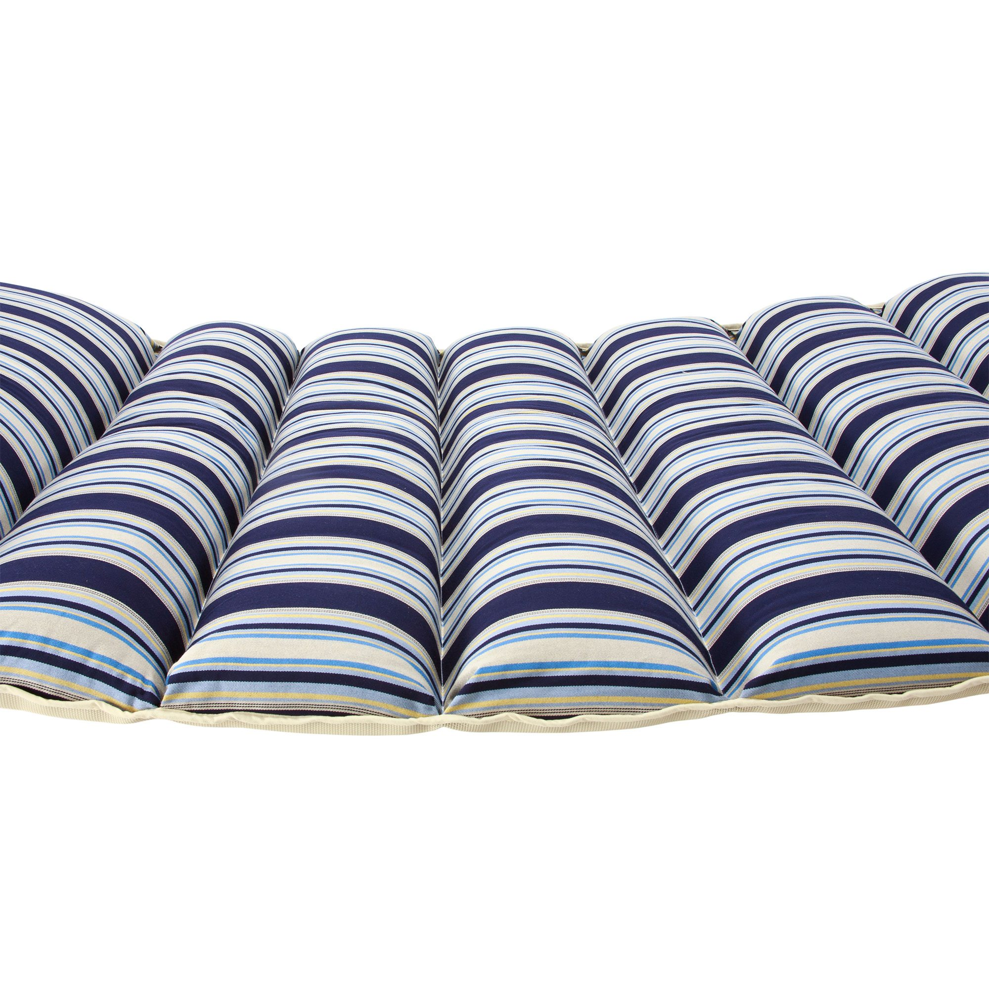pillowtop hammock   hamptons summer stripe     hamptons summer stripe pillowtop hammock   dfohome  rh   dfohome