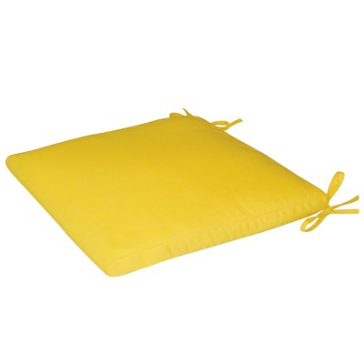 Bullnose Sunbrella Seat Cushion with Ties
