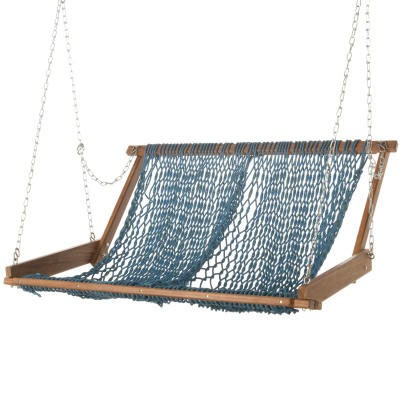 Original Brazilian Teak Duracord Rope Swing - Everglade