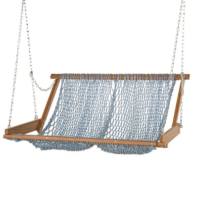 Original Brazilian Teak Duracord Rope Swing - Ocean