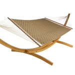 Webbed Interwoven Hammock - Deep Gold