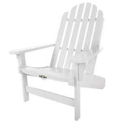 Essentials White Durawood Adirondack Chair