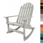 3 Piece Essentials Adirondack Rocker Set