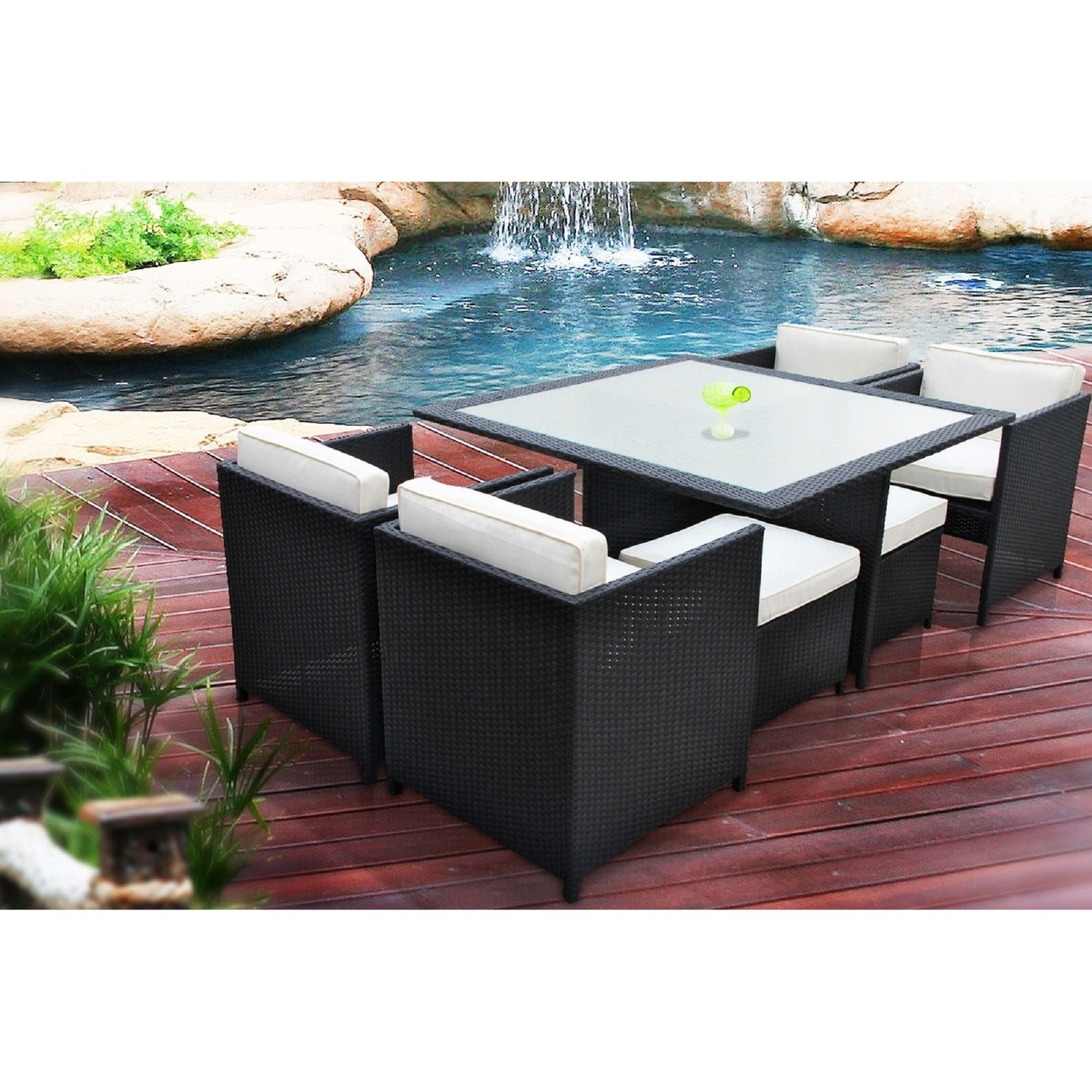 ... outdoor wicker dining set by modway item eei 726 set now $ 1599 99 was