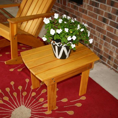 Adirondack End Table