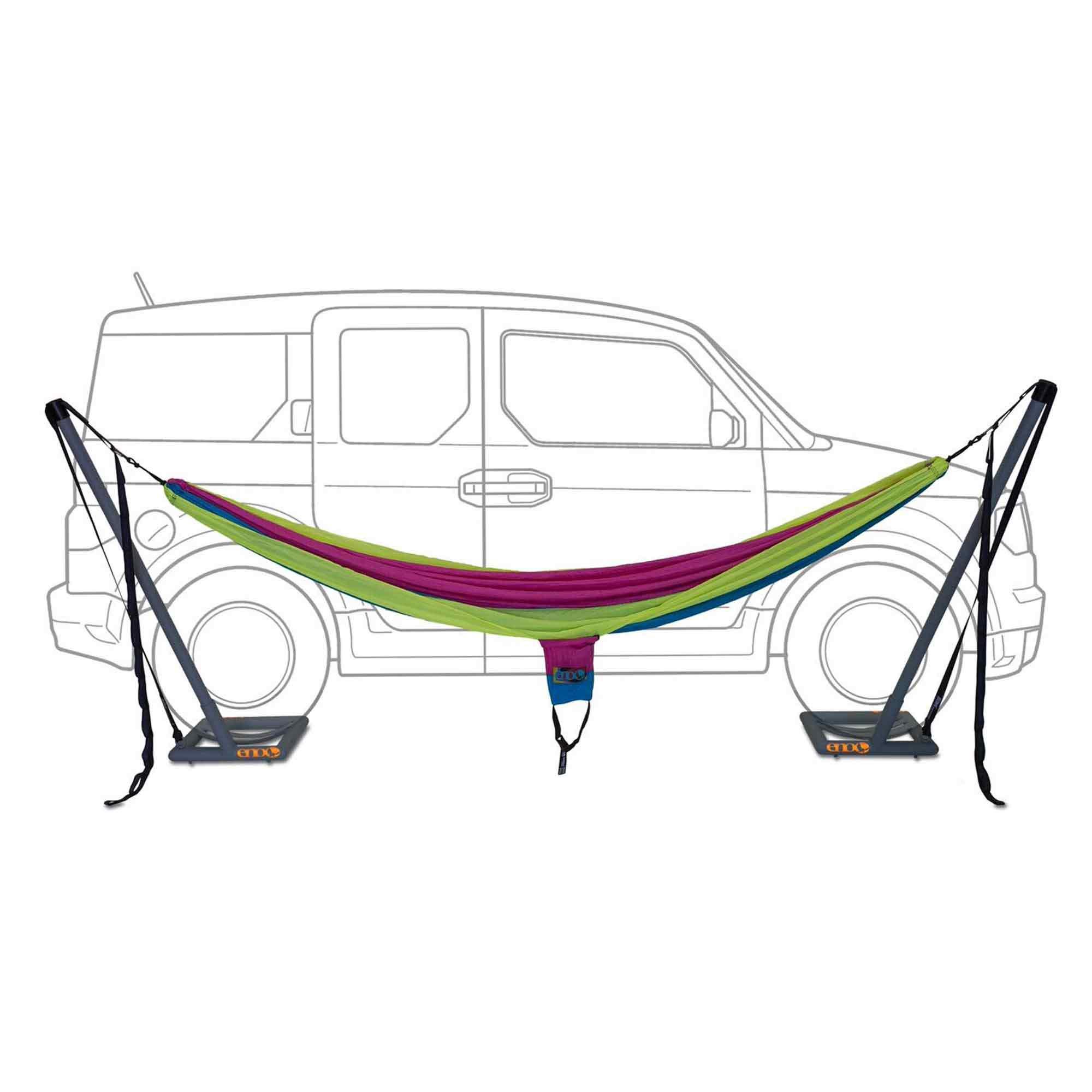 hammock camping fly singlenest eno setup rain reviews enos