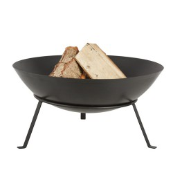 Steel Fire Bowl with Legs