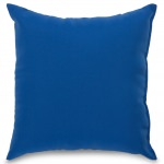 Royal Blue Outdoor Throw Pillow