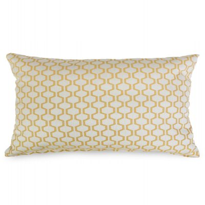 Prism Citrus Outdoor Throw Pillow 19 in. x 10 in. Rectangle/Lumbar