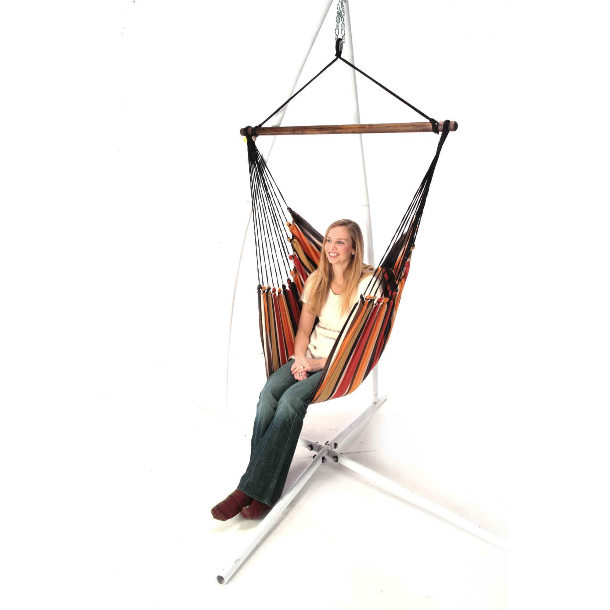 chair hanging diy swing with stools chairs stand htm round and hammock vanity picture