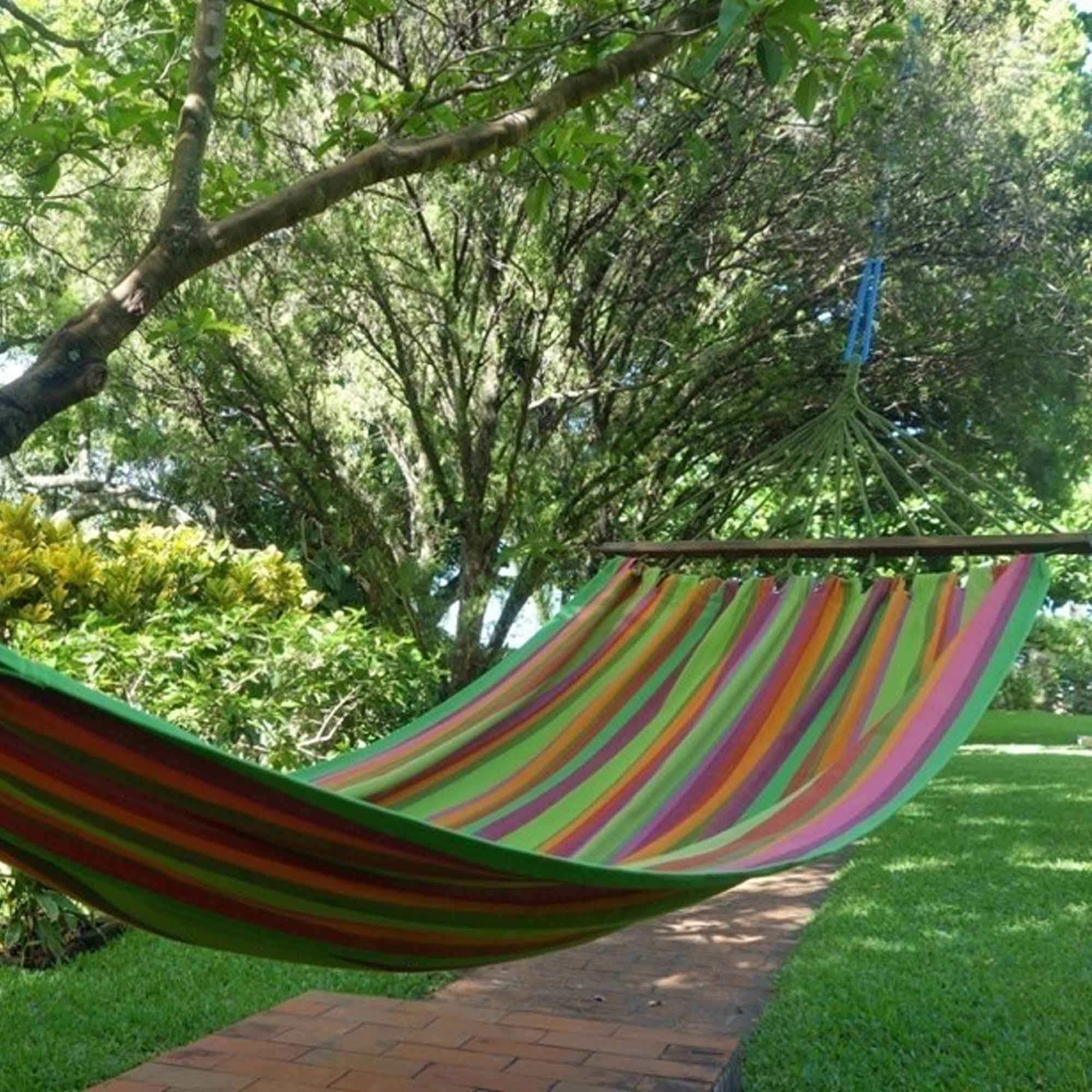 Fabric Hammock With Spreader Bar Cecilia