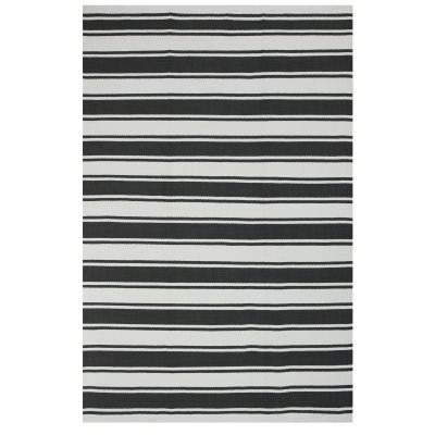Lucky Gray and White Outdoor Rug