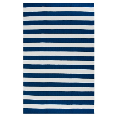 Nantucket Blue and White Outdoor Rug