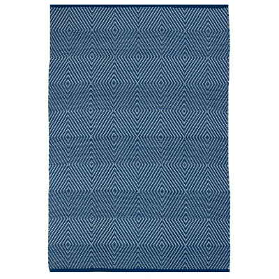 Zen Blue and White Outdoor Rug